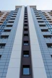Immeuble ayant beaucoup d'étages à plusiers étages Images stock