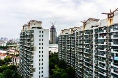 Immeuble ayant beaucoup d'étages de Changhaï 10 photo libre de droits