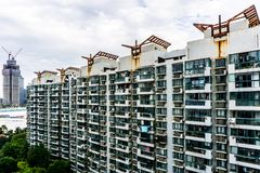 Immeuble ayant beaucoup d'étages de Changhaï 11 photos libres de droits