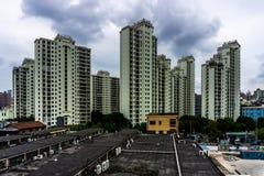 Immeuble ayant beaucoup d'étages de Changhaï 12 photos stock
