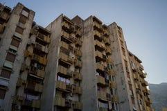 Immeuble dans Kotor, Monténégro images libres de droits