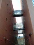 Immeuble de brique Images stock