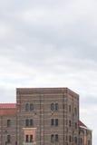 Immeuble de brique Photographie stock