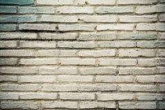 Mur de briques de blanc de Vantages Photographie stock