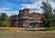 Immeuble de brique rouge Photo libre de droits