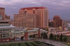 Immeuble de bureaux à Albany, NY Photo libre de droits