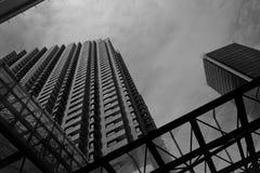 Immeuble de bureaux à Bogota Photographie stock