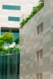 Immeuble de bureaux élevés Photographie stock