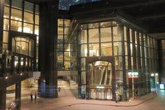 Immeuble de bureaux central de plaza Hong Kong Images libres de droits