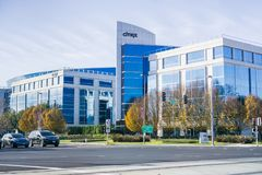 Immeuble de bureaux de Citrix photo libre de droits