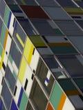 Immeuble de bureaux coloré Photos stock