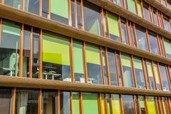 Immeuble de bureaux coloré Photographie stock