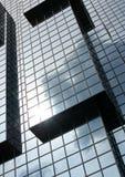 Immeuble de bureaux cubique Images stock