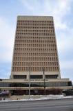 Immeuble de bureaux d'état d'Utica, l'état d'Utica, New-York, Etats-Unis Photos stock