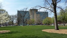 Immeuble de bureaux d'état, Topeka, KS Photographie stock libre de droits