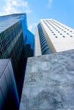 Immeuble de bureaux dans la ville de NY Photos stock