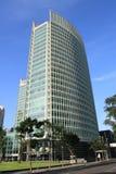 Immeuble de bureaux dans la ville moderne, Pékin image stock