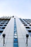 Immeuble de bureaux dans le point de vue Photographie stock