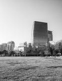Immeuble de bureaux de Bakou de port Photo stock