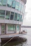 Immeuble de bureaux de flottement Images stock
