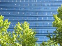Immeuble de bureaux de fond Photo libre de droits