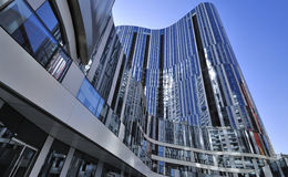 Immeuble de bureaux de la Chine Pékin CBD Photographie stock