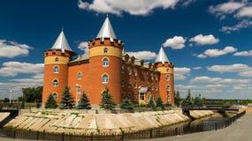 Immeuble de bureaux de sanatorium construit dans le style de la serrure Image stock