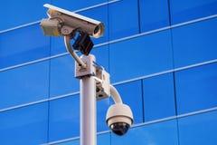Immeuble de bureaux de surveillance Photo stock