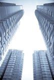 Immeuble de bureaux de ville Image stock