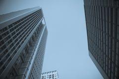 Immeuble de bureaux de ville Image libre de droits