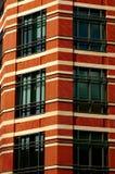 Immeuble de bureaux de ville Photographie stock libre de droits