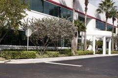 Immeuble de bureaux en Floride photos libres de droits
