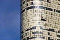 Immeuble de bureaux en verre de façade image stock