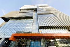 Immeuble de bureaux et centre commercial, Moscou, Russie Image stock