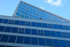 Immeuble de bureaux. Fin. images libres de droits