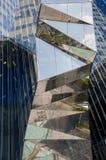 Immeuble de bureaux de Gas Natural, Barcelone, Espagne, septembre 2016 Images stock
