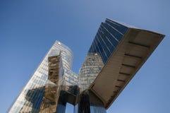 Immeuble de bureaux de Gas Natural, Barcelone, Espagne, septembre 2016 Image libre de droits
