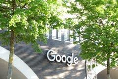 Immeuble de bureaux de Google à Munich images libres de droits