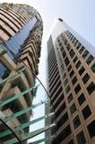 Immeuble de bureaux grand Photos stock