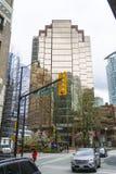 Immeuble de bureaux moderne à Vancouver - rue de 999 W Hastings - VANCOUVER - CANADA - 12 avril 2017 Image libre de droits
