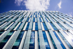 Immeuble de bureaux moderne, Manchester R-U images libres de droits