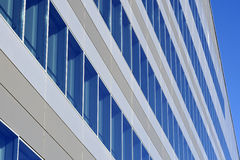 Immeuble de bureaux neuf Photo libre de droits