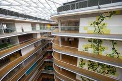 Immeuble de bureaux scandinave de style images libres de droits