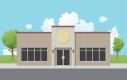 Immeuble de bureaux suburbain Photos stock