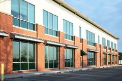 Immeuble de bureaux suburbain Images libres de droits