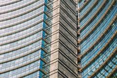 Immeuble de bureaux Windows Photographie stock