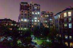 Immeuble de Wuhu Anhui Chine 4 images libres de droits