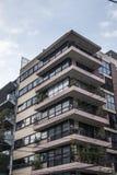 Immeuble des années 70 Photo libre de droits