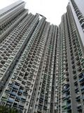 Immeuble grand Hong Kong Photographie stock