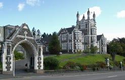 Immeubles à Dunedin photo libre de droits